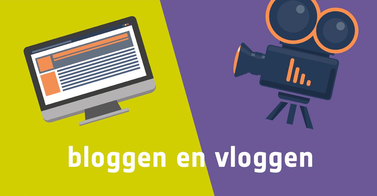 Bloggen en vloggen, dit is het verschil